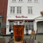 Tè nero mela e cannella al Baker Brun - Bryggen