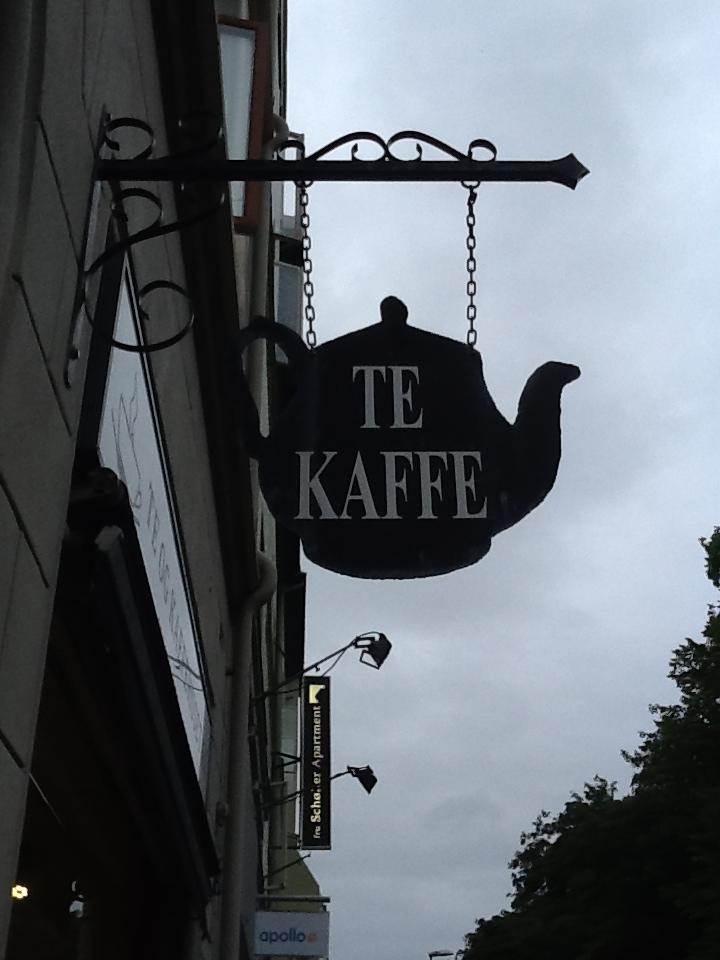 casa del tè e del caffè Trondheim