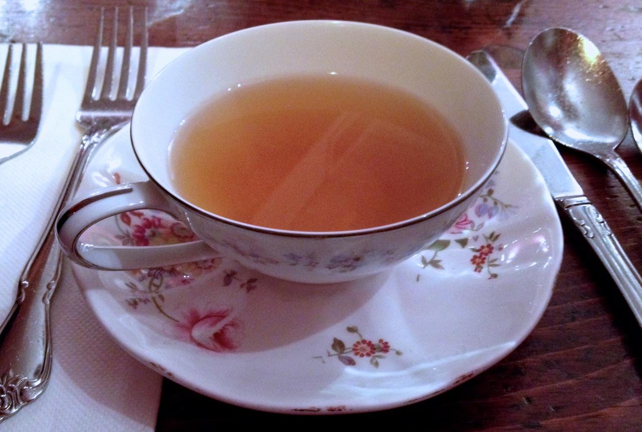 Bere un tè a New York