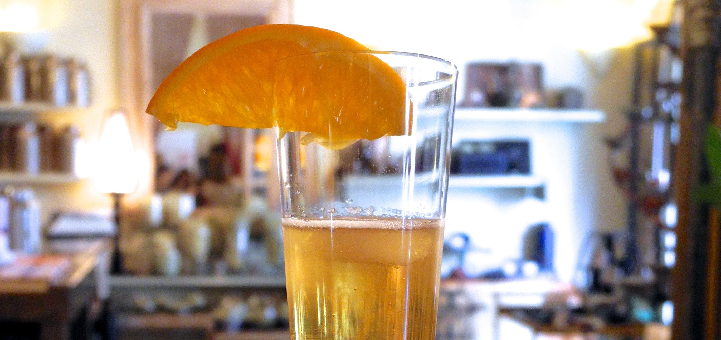 cocktail spumante
