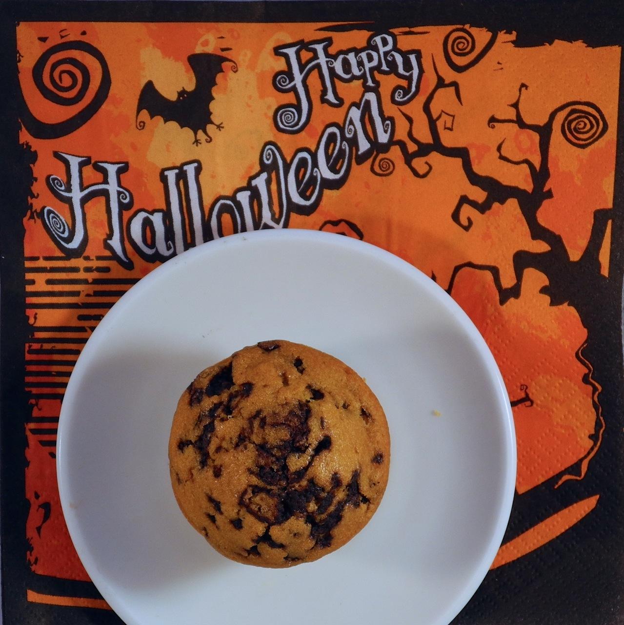 Muffin al cioccolato e zucca