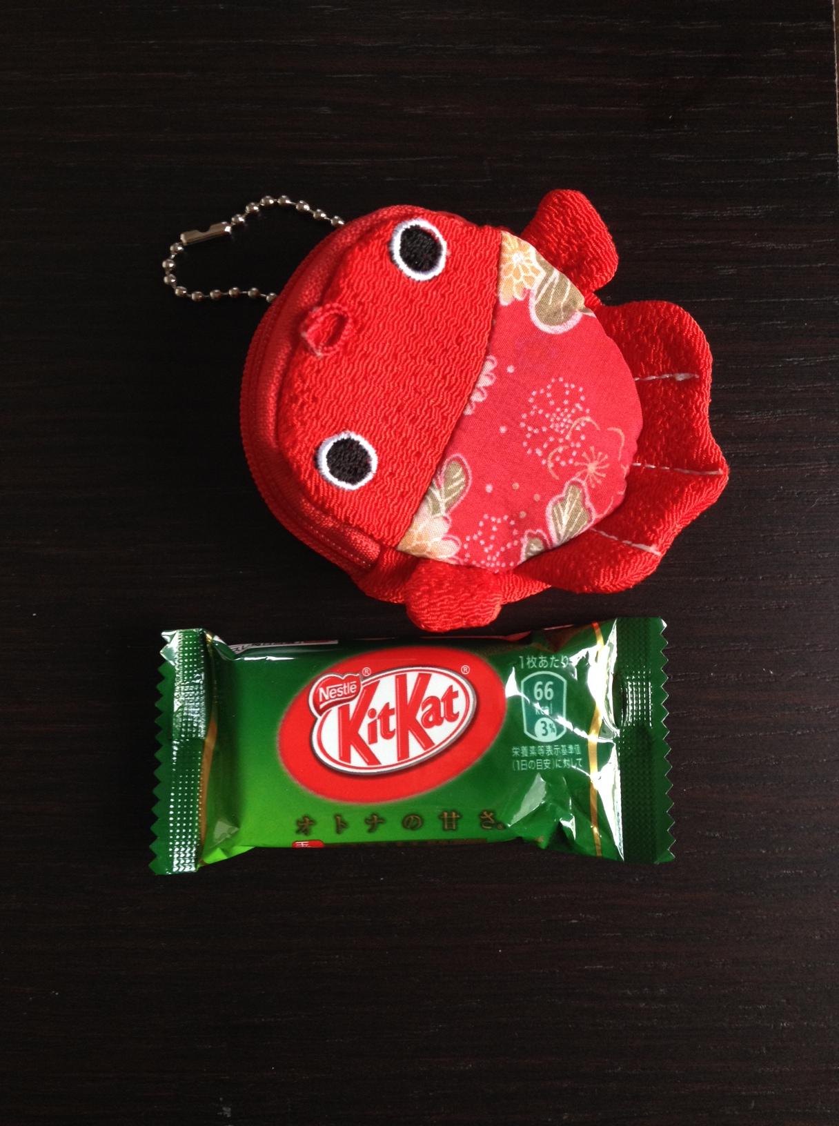 Un regalo dal Giappone: il kit kat al tè verde matcha