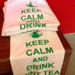 Al padiglione Marocco è possibile acquistare una simpatica tshirt dedicata al tè alla menta