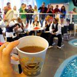 A Expo si può bere un ottimo tè dall'Iran
