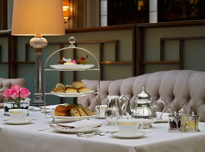 Afternoon tea al The Lanesborough hotel di Londra