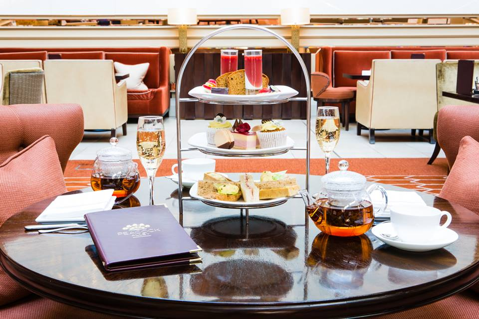 L'afternoon tea al Waldorf Astoria di Edimburgo
