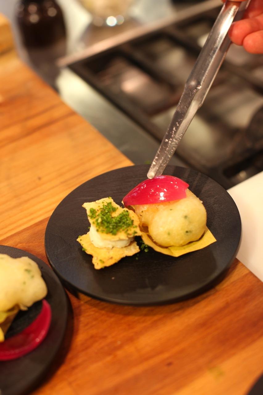 Una ricetta dello chef Lorenzo Alessio con baccalà islandese