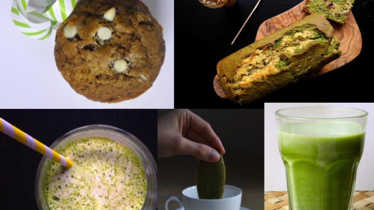 5 ricette per la colazione al tè verde matcha