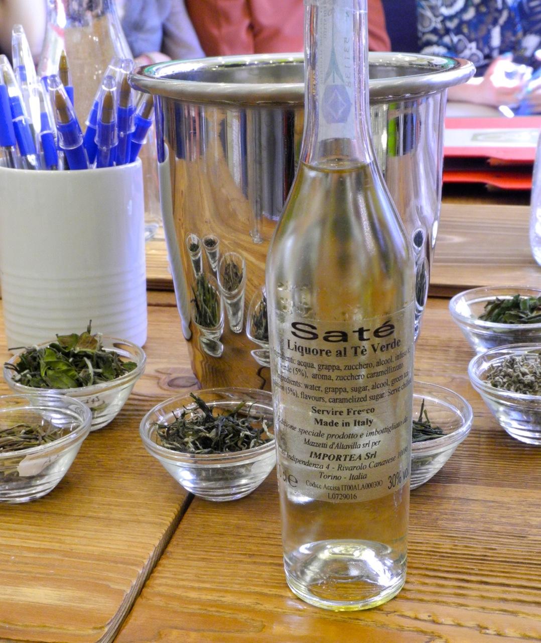 Grappa al tè verde per la prima edizione della Tea Masters Cup
