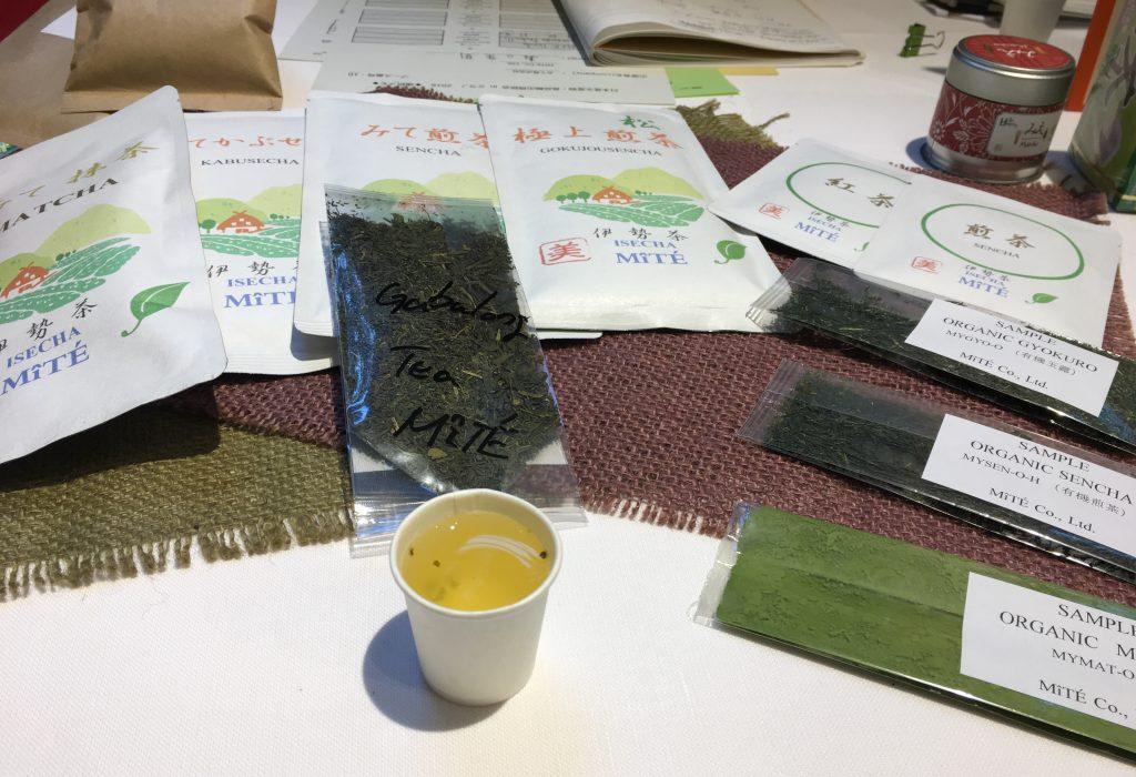 Tè giapponese della prefettura di Mie