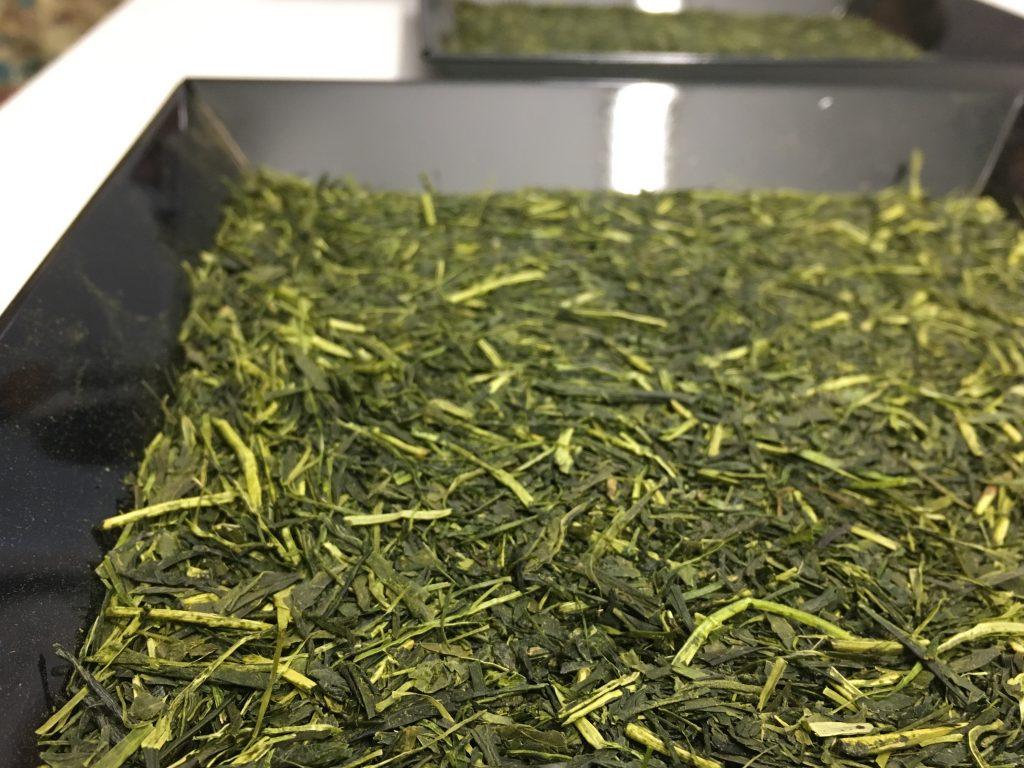 Foglie di tè verde giapponese Fukamushi