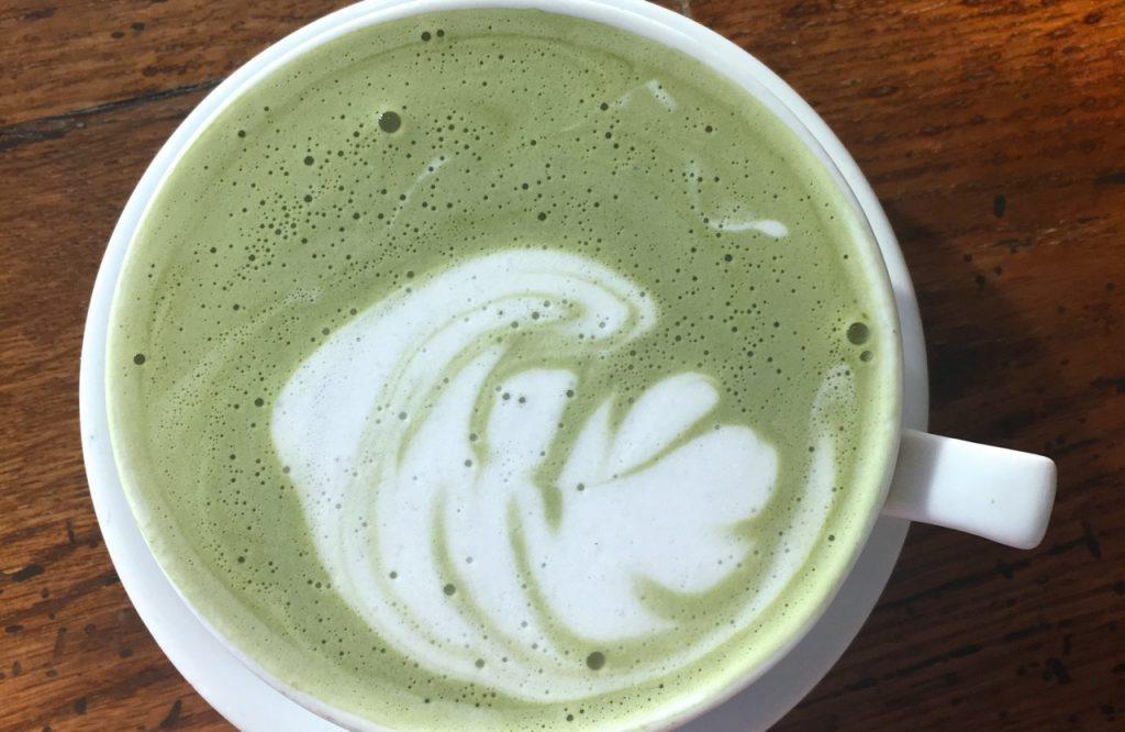 Da Impresso a Los Angeles potete bere un buon matcha latte