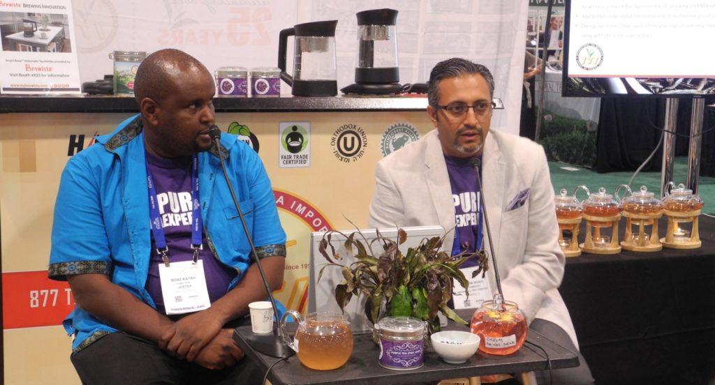 Il tè viola del Kenya presentato al World Tea Expo