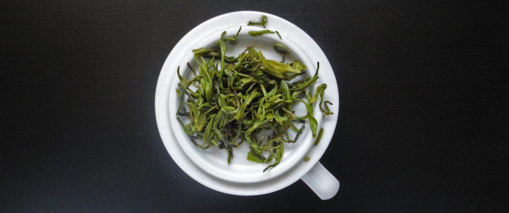 Il Meng Ding Gan Lu è un tè verde cinese prezioso dal sapore particolarmente dolce