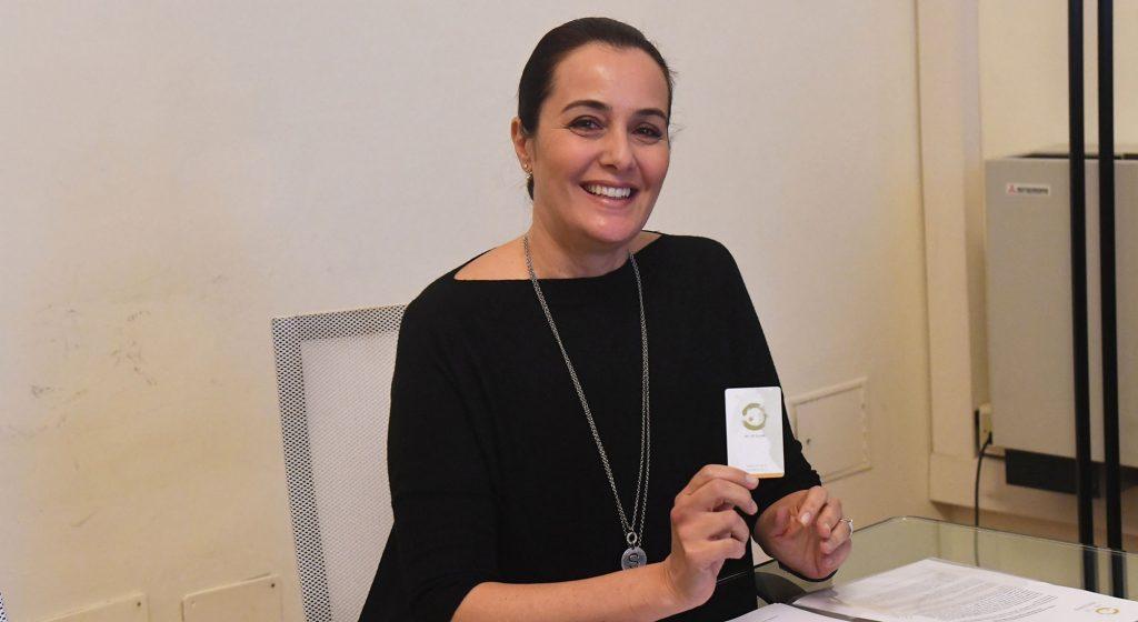 Roberta Capua testimonial del festival del tè 2018