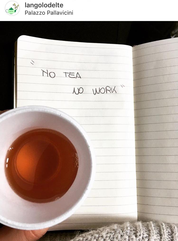 L'angolo del tè su Instagram