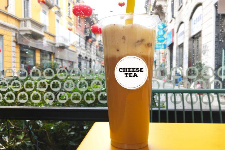 Che cosa è il cheese tea e che sapore ha?