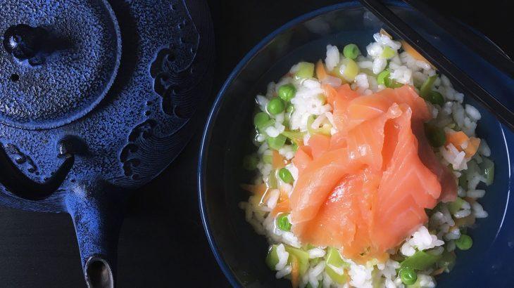 La ricetta dell'ochazuke, il riso al tè giapponese