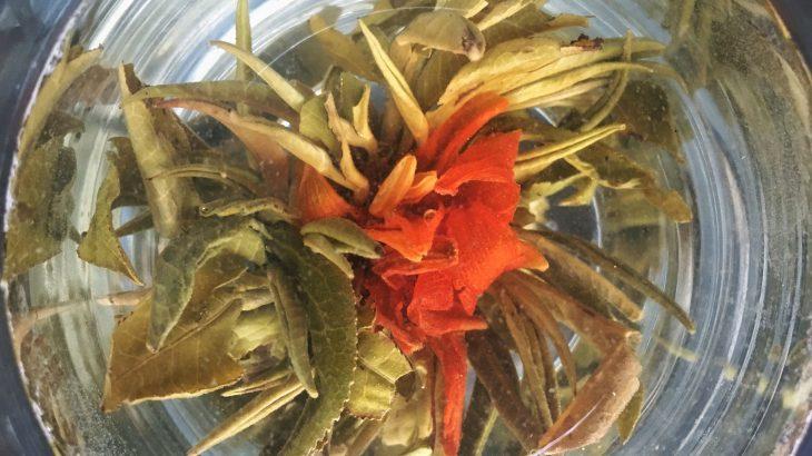 Che cosa sono i fiori di tè o blooming tea?