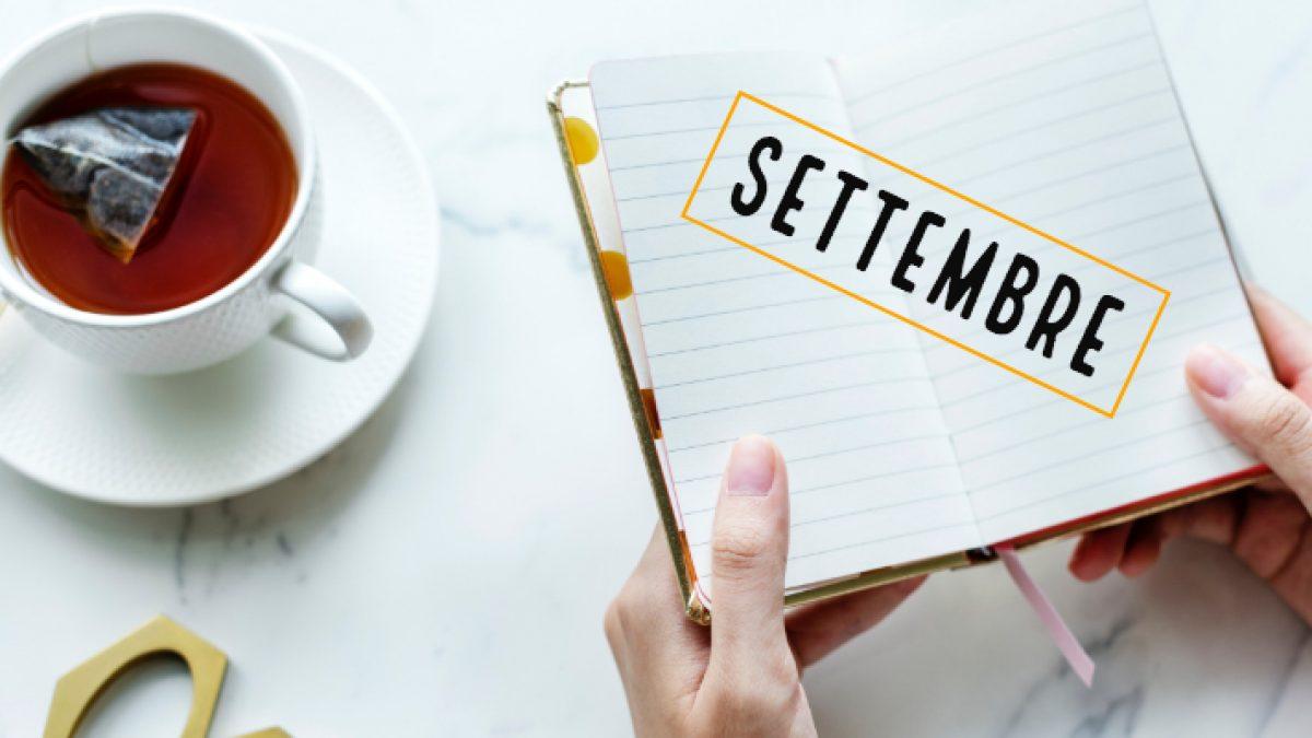 I corsi e gli incontri sul tè del mese di settembre 2018