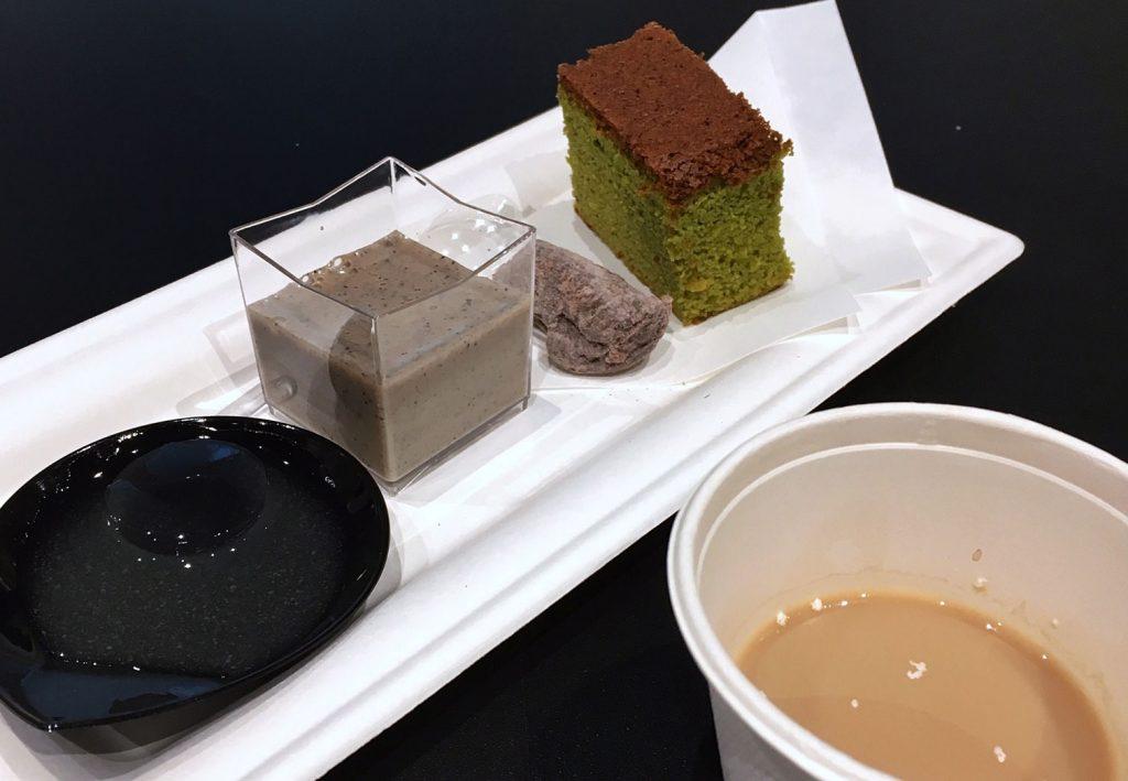 La pasticceria yohashi dello chef Takashi Ochiai al tè