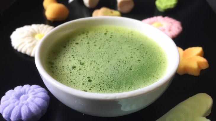 La pasticceria giapponese ha un forte legame con il tè matcha