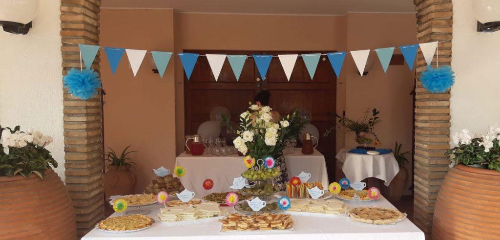 Come organizzare un tea party per un battesimo