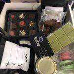 Box di Natale del negozio di tè TeaCup a Milano